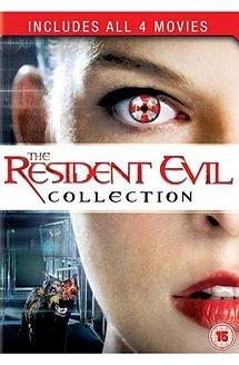 Blu Ray: Resident Evil 1 bis 4 UK-Import [keine deutsche Sprache, keine deutschen Untertitel]