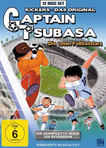 [AUS VERSEHEN AUF ABLAUFEN GEDRÜCKT. LÄUFT NOCH!] Captain Tsubasa: Die tollen Fußballstars - Die komplette Serie für 41,99 € @bücher.de