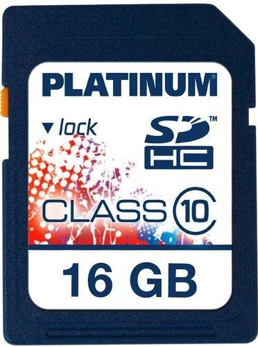 Platinum 16 GB SDHC Speicherkarte Class 10 für 9,99€ inkl. VSK @ eBay
