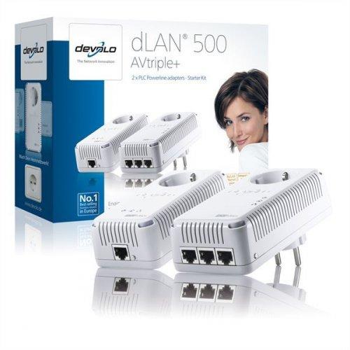 devolo dLAN 500 AVtriple + Starter Kit 500MBit
