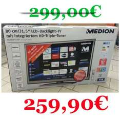 Smart TV mit LED Backlight HD Triple Tuner 80 cm/31,5""
