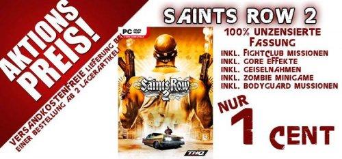 Saints Row 2 - UNCUT (PC) erneut für nur 1 CENT bei Gamesonly