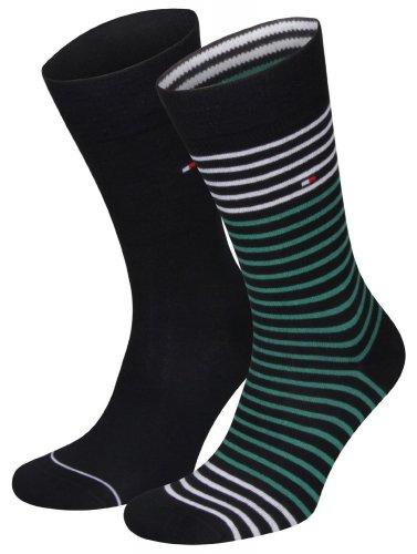Tommy Hilfiger Herren Socke 2 er Pack 392151 Gr. 39/42