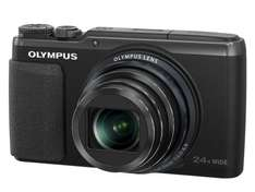 Olympus SH-50 Digitalkamera (16 Megapixel, 24-fach Super Zoom, 7,6 cm (3 Zoll) LCD-Display, iHS, 5-achsiger Bildstabilisator, Full HD, Live Guide) schwarz inkl. Vsk für ca. 264 € @ Amazon.uk