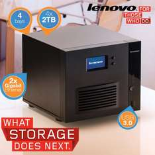 Lenovo IX4 - 300d NAS Server mit 4 x 2TB werkseitig vorinstalliert @ibood.com