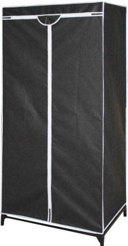Mobiler Kleiderschrank aus Stoff (Grau) ab €9,81 [@Getgoods.de]