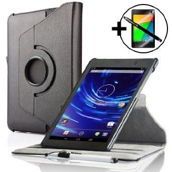 2013 Google Nexus 7 Kunstleder Hülle Schutzhülle / Ständer - inkl. Eingabestift und Displayschutz
