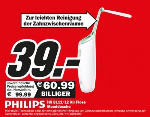 [Lokal Essen] Philips HX 8111/12 Sonicare AirFloss Munddusche € 39,- @MediaMarkt