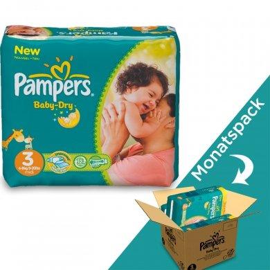 Pampers Baby-Dry Monatspakete @baby-markt.de für €35,99