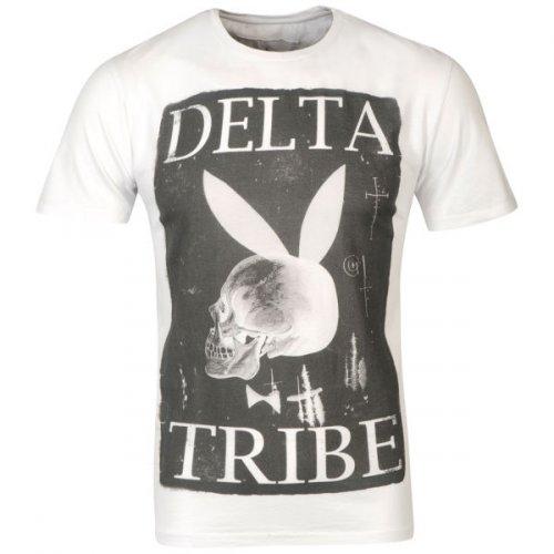 Delta Tribe Men's Delta Bunny Graphic T - Shirt Weiss für 9,34€ @TheHut