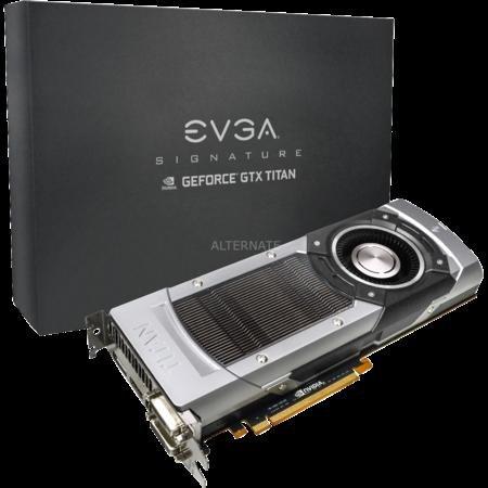 EVGA GeForce GTX Titan SuperClocked Signature | Nur 869 € + 6,95 € Versand