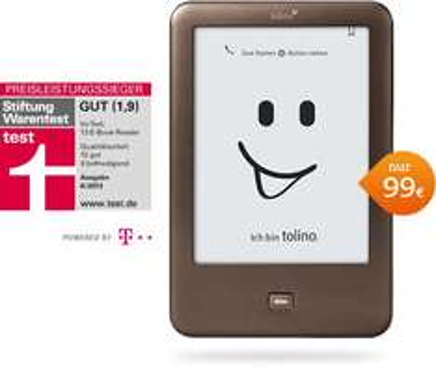Tolino Shine bei Abgabe eines alten E-readers nur noch 74€ (25€ Rabatt)
