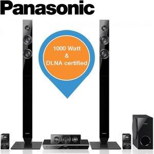 Panasonic SC – BTT460 – 5.1 Home Cinema System mit 3D Blu-ray Player für 259€ @ iBood