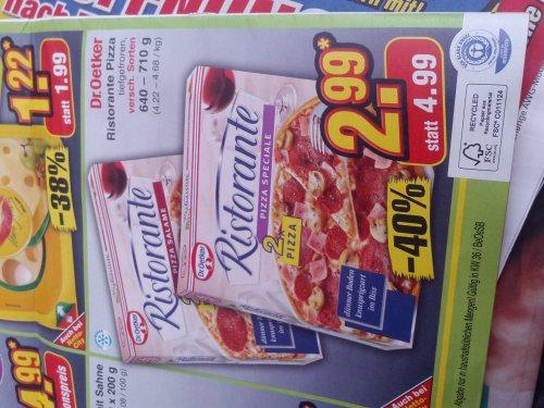 [Netto Marken-Discount] Dr.Oetker Ristorante Pizza Doppelpack