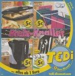 Tedi Preisknaller - Sandwichtoaster, Wasserkocher, Wäscheständer oder 24-teiliges Besteckset aus Edelstahl für je 5€ + mehr inside!
