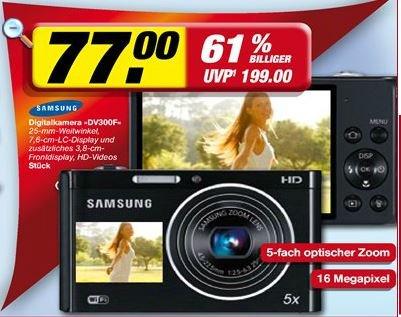 [Bundesweit]? Toom Neuwied - Samsung DV300F für 77 Euro anstatt 153 Euro
