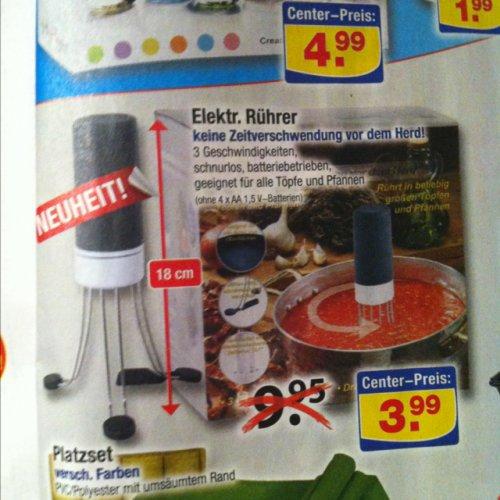 [Centershop] Elektrischer Rührer für 3,99€!