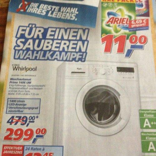 Whirlpool Waschmaschine primo 1406 bei Real