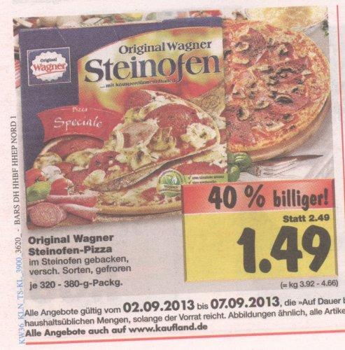 [lokal HH] Kaufland: Wagner Steinofen-Pizza