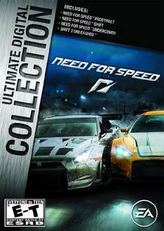 [Origin][Amazon.com] Need for Speed Ultimate Digital Collection für 6,80 Euro (NfS Undercover, ProStreet, Shift, Shift 2 Unleashed)