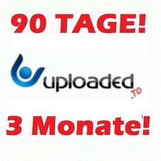 Uploaded.net ul.to für 90 Tage Persönlicher PREMIUM ACCOUNT 3 Monate SALE!!!!!!!