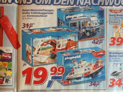 [Real Filiale] - Verschiedene Playmobil Sets zum Bestpreis
