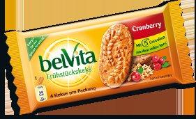 Verteilung von BelVita Cranberry Snacks an div. Bahnhöfen in den Morgenstunden