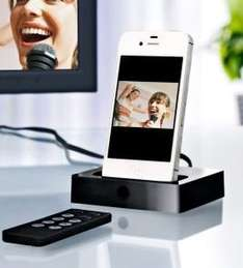 TV/Hifi-Dockingstation für iPhone/iPod