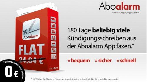 Abo Alarm 6 Monate Kündigungs-Flatrate für 2,90€ @Computerbild