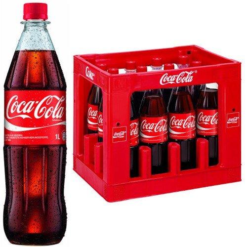 """[lokal: Hessen, Unterfranken] Logo Getränkemarkt: 3 Kisten """"Coca Cola"""" 12x1 Liter für 23,97€ (Literpreis 0,67€)"""