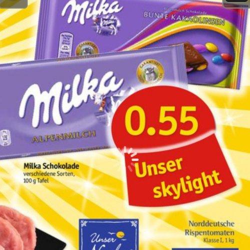 [lokal Hamburg/Kiel] Milka für -,55; Mövenpickeis für 2,22€