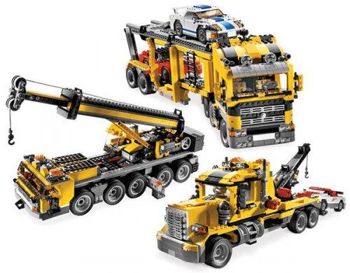 LEGO Creator 6753 - 3in1 Autotransporter/Abschleppwagen/Kran für nur 99,99 EUR inkl. Versand