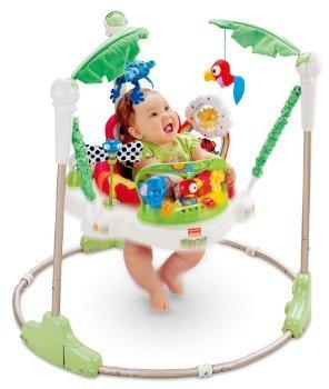 Fisher-Price Jumperoo Rainforest - Babyhoppser