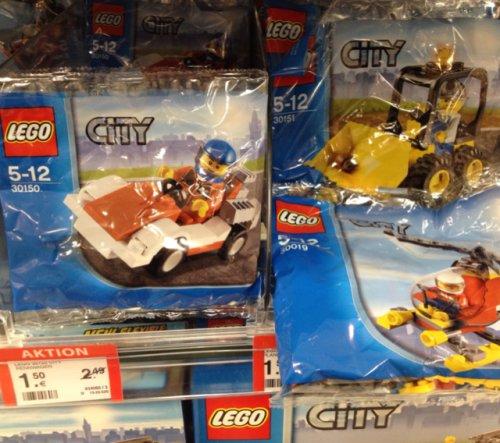 Lego 30019, 30151, 30150 Tüten je 1,50€ @müller bremen Waterfront