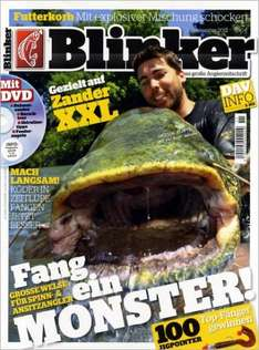 Blinker ( für die Angler )  im  Jahres-Abo für 7€ nur noch heute ( 30.09.)