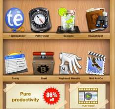 Mac Software Bundle ProductiveMacs: TextExpander, Path Finder, Socialite...