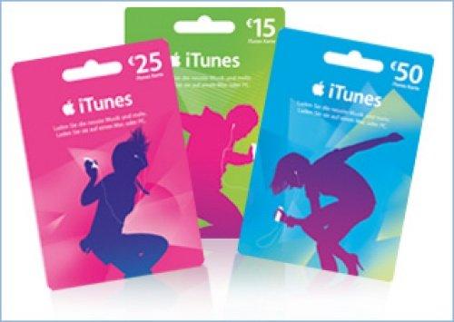 [lokal bundesweit] iTunes Guthabenkarten mit 20% Rabatt bei Saturn