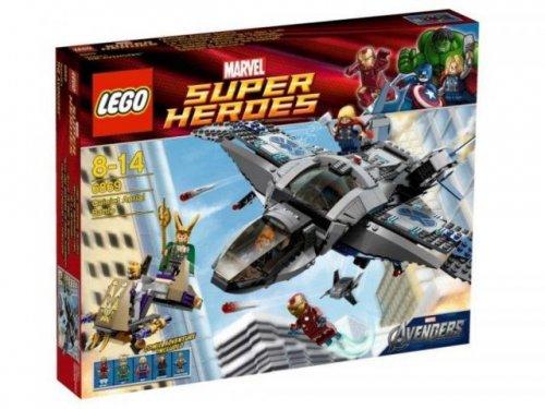 Lego Super Heroes - Ausbruch mit dem Helicarrier für nur 54,52 EUR inkl. Versand