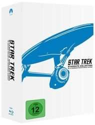 Star Trek 1 - 10: Remastered Bluray Box für 77€ @Bücher.de