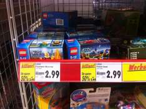 (Lokal - Kaufland) Lego 60006 Polizei-Quad und Lego 60000 Feuerwehr -Motorrad