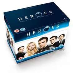 Heroes: The Complete Collection (Session 1-4) [Blu-ray] für ~ 54€ @ zavvi