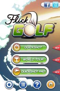[Android] Flick Golf kostenlos @ Amazon App Shop