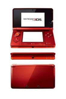 Nintendo 3ds rot