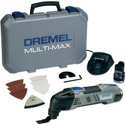 Dremel Multi-Max 8300 Multifunktionswerkzeug 2 x 1,3 Ah Li-Ion Akku o. Vsk für 89,99 € @ Conrad.de