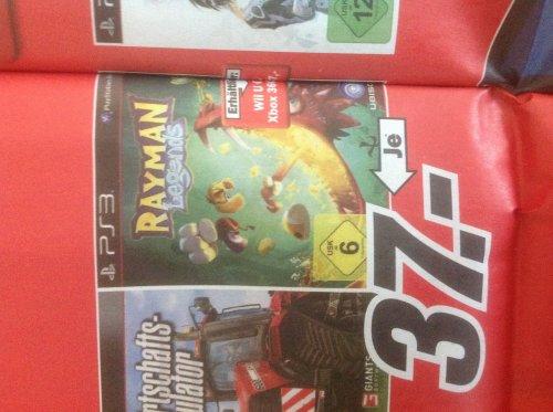 Rayman Legends PS3 oder XBox360 für 37€ @MM Lippstadt