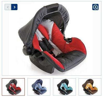 """Hauck™ - Babyschale """"Zero Plus"""" (Blau,Braun,Rot) für €34,94 [@Lidl.de]"""
