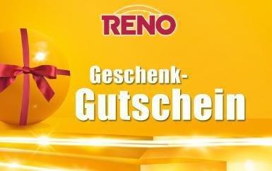 [Quicker] Reno Geschenkgutschein 15€ für 9,50€