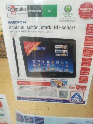 Medion Tablet-PC 25,4cm/10''  LIFETAB S9714 (MD99300)