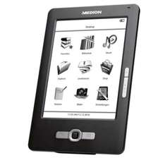 "MEDION LIFE eBook Reader P6301 (MD 86371) 15,2 cm / 6"" Touchscreen Display 2GB"