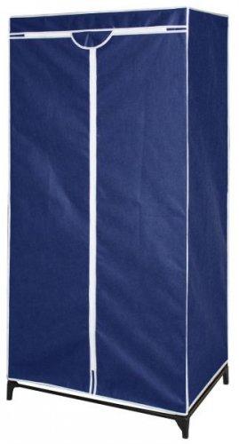 Mobiler Kleiderschrank aus Stoff (Blau) ab €9,81 [@Getgoods.de]